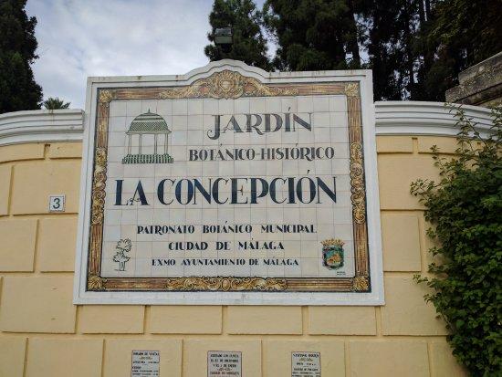 Foto de jardin botanico historico la concepcion m laga for Jardin botanico tarifas