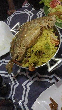 La Maree chez Nari: riz safran