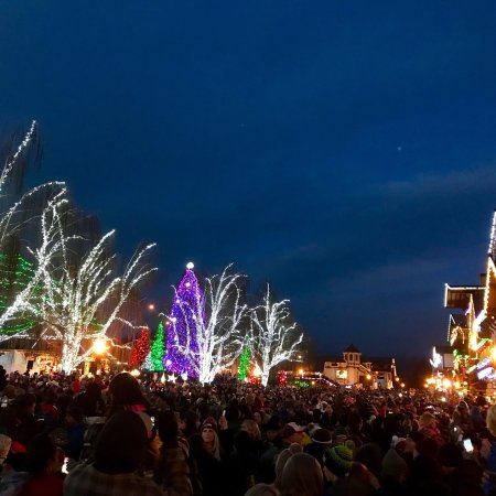 The Christmas Lighting Ceremony is beautiful! - Picture of Front ...