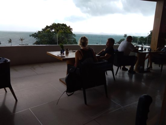 W Koh Samui: Breakfast area, with a sea view