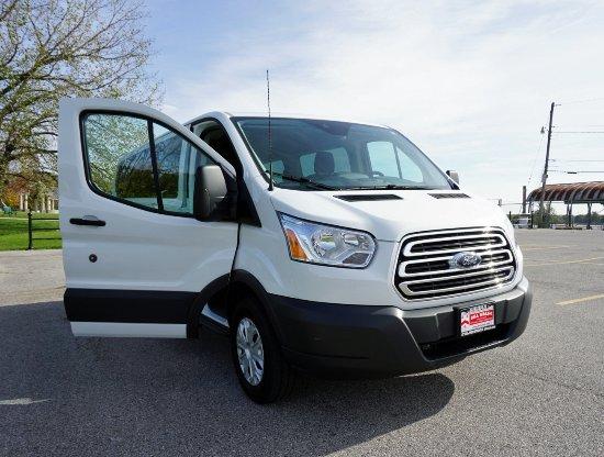 Davenport, IA: Our trusty van, Travis.