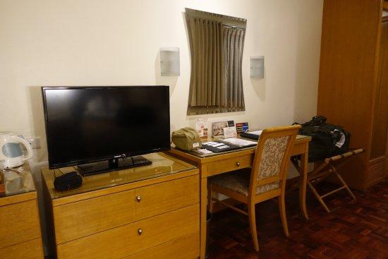 City Garden Suites: Ett enkelt men bekvämt rum.