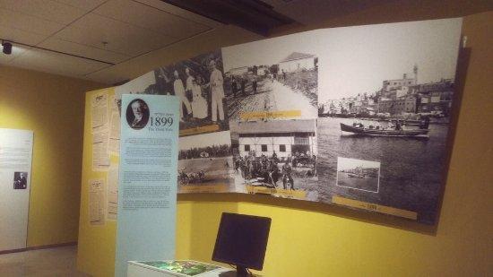 Eretz Israel Museum Complex (Haaretz Museum): Baron Rothschild exhibit