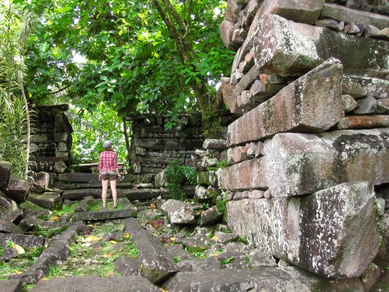 Pohnpei, Federated States of Micronesia: Get the ruins all to yourself.