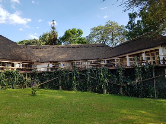 Ngorongoro Farm House, Tanganyika Wilderness Camps : חדר האוכל