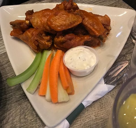 Latham, NY: Bone-in Wings