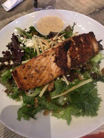 Latham, NY: Apple Salad with Salmon