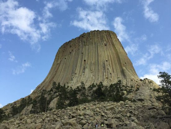 Foto scattata all'inizio del trail - Photo de Devils Tower ...