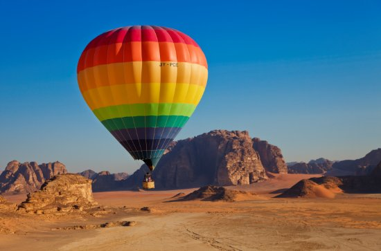 Wadi Rum, Yordania: We offer balloon flights