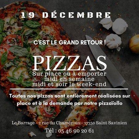 Saint-Savinien, France: C'est le retour des Pizzas
