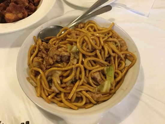 Coquitlam, Canadá: Shanghai style fried noodles.
