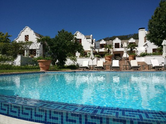 Franschhoek Manor: Delightful stay in this lovely guest house