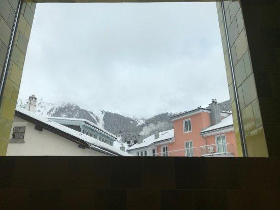 Samedan, Svizzera: vista dall interno