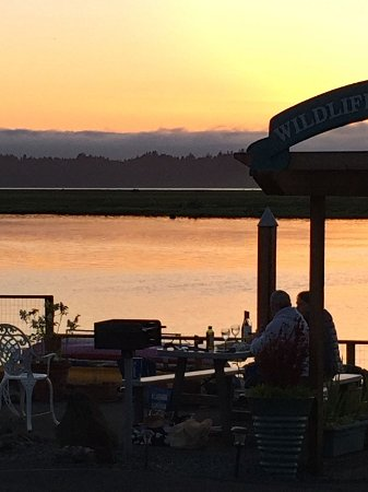 Wheeler, OR: Barbecue and watch the sunset.