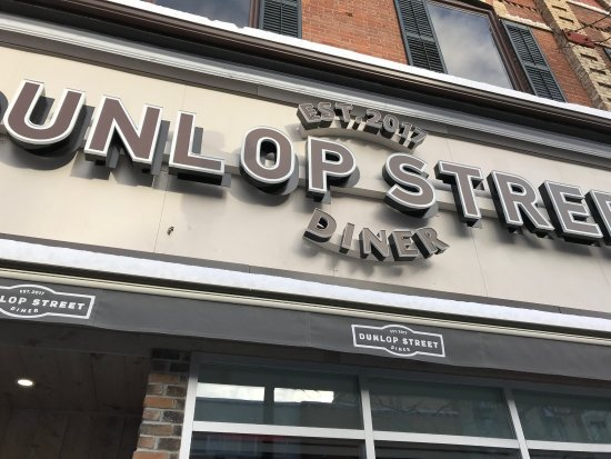 Dunlop Street Diner: Just opened - new diner in town.