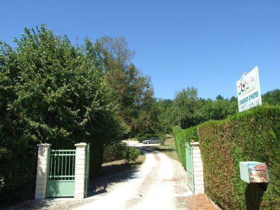 Saint-Cyprien, Prancis: Entrée Chambres d'hôtes BnB Dordogne Perigord Les Feuillantines