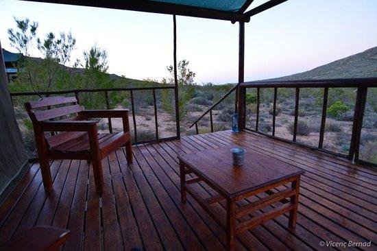 Garies, Sør-Afrika: Veranda