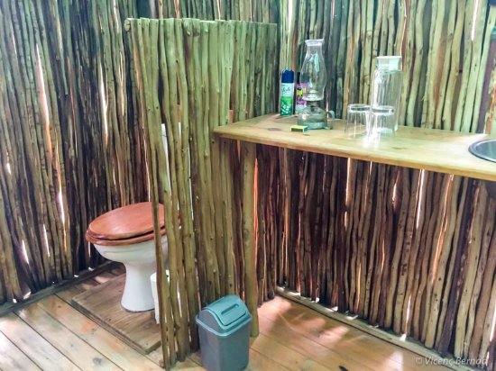 Garies, Южная Африка: Bathroom in tent