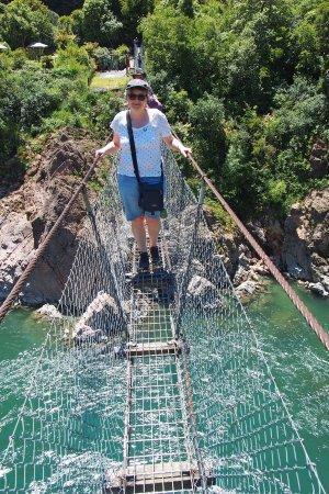 Buller Gorge Swingbridge Ltd: Auf der Bridge
