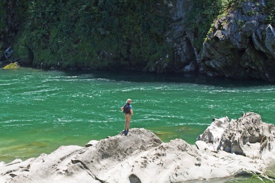 Nelson-Tasman Region, New Zealand: Direkt am Fluss