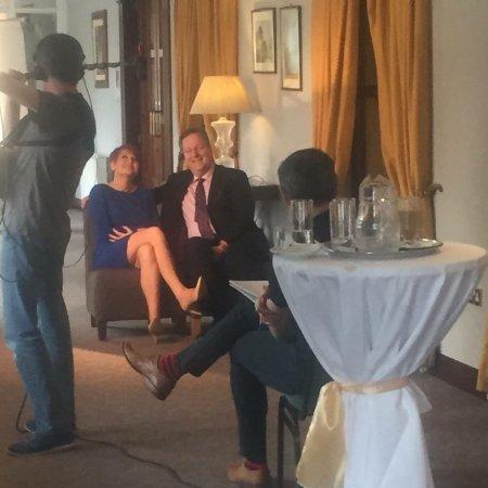 Ennis, Ireland: Filming the wedding video well worth a watch!!!!
