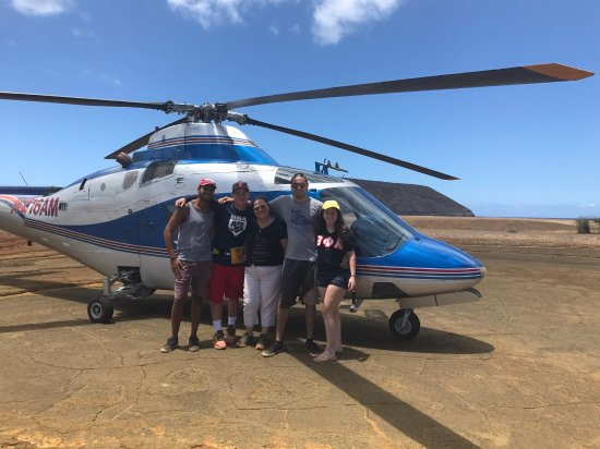 Makaweli, Havai: Our party of five. It was a pleasure going back for another trip to Niihau.