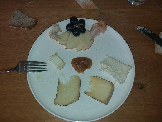 Assiette de fromages na slici je le jardin gourmand for Jardin gourmand lorient