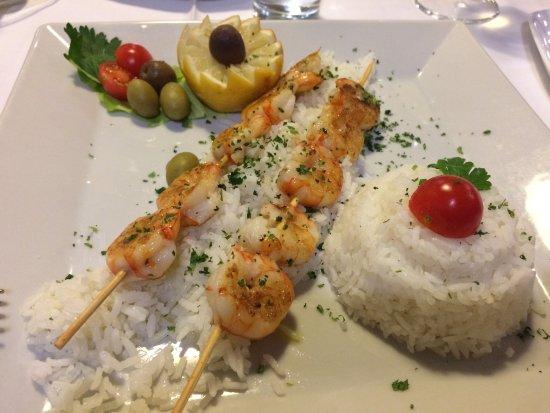 Igalo, Montenegro: schrimps