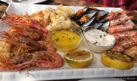 Saldanha, Afrique du Sud : Seafood platter