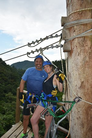 Angel Falls Xtreme Adventures: Getting ready to rip!