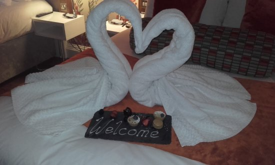 Hotel Indigo Edinburgh: Our lovely welcome