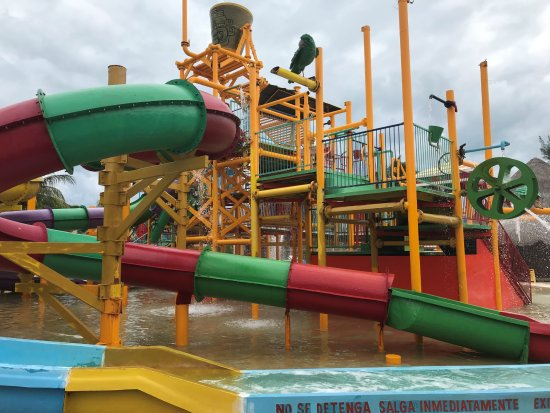 Water Park Yes The Water Is Brown Down The Bottom Picture Of All