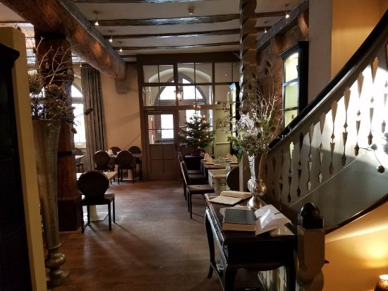Hotel Herrnschloesschen: At Rothenburg, in Hotel herrnschloesschon, the Best in service, accommodations, food, and relaxi
