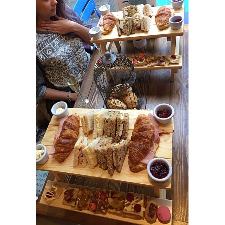 Hands down the best afternoon tea we've ever had!!