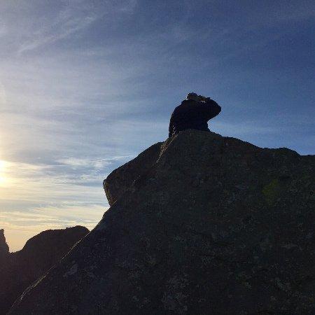 Alpine, Teksas: Beautiful sunrise Lost Mine trail