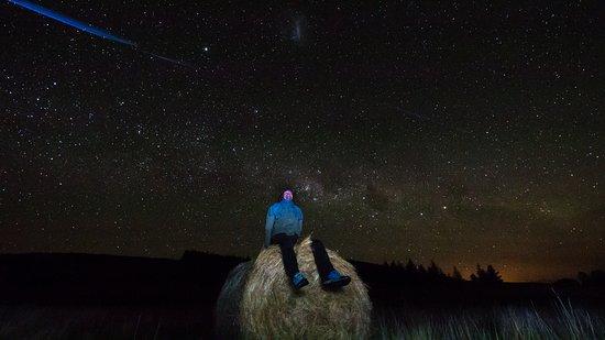 Twizel, Nueva Zelanda: Shooting star!