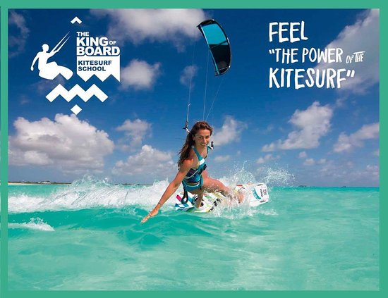 The King of Board kitesurf school