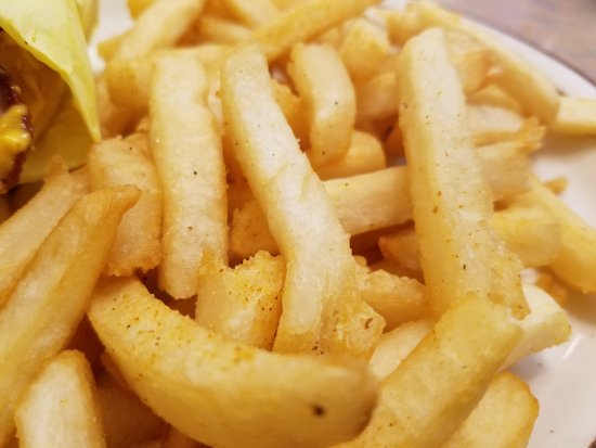 Rosamond, CA: Don't lose your fries.