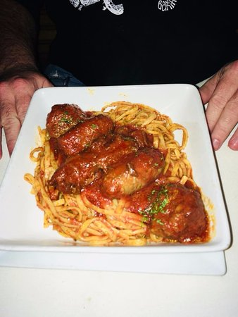 Italian sausage made from scratch and meatballs