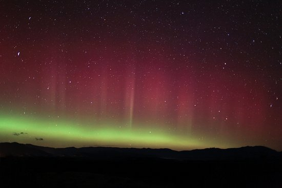 Twizel, Nueva Zelanda: The Southern Lights