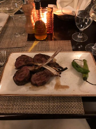 Hot Springs, VA: Jeffersons Restaurant - Rack of Lamb