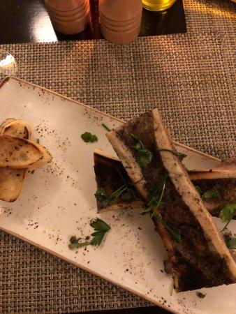 Hot Springs, VA: Jeffersons Restaurant - Bone Marrow Starter