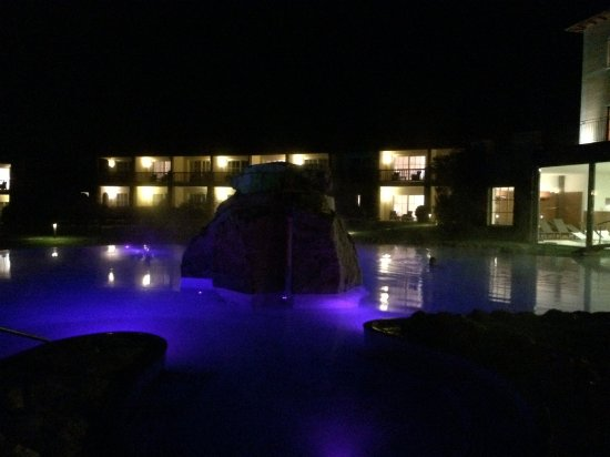 Notturno - Picture of Hotel Adler Thermae Spa & Relax Resort ...