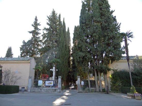 Granada Cemetery Walls Memorial: the entrance