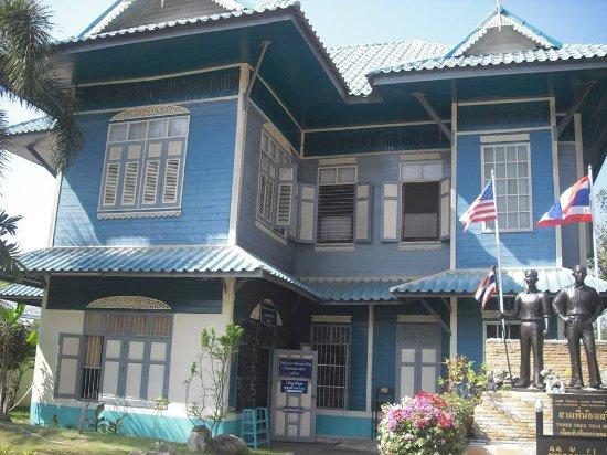Phrae, Thailandia: 外観…タイ欧折衷様式の建築物