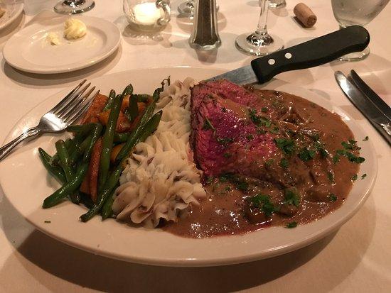 Caledonia, نيويورك: Steak balmorale