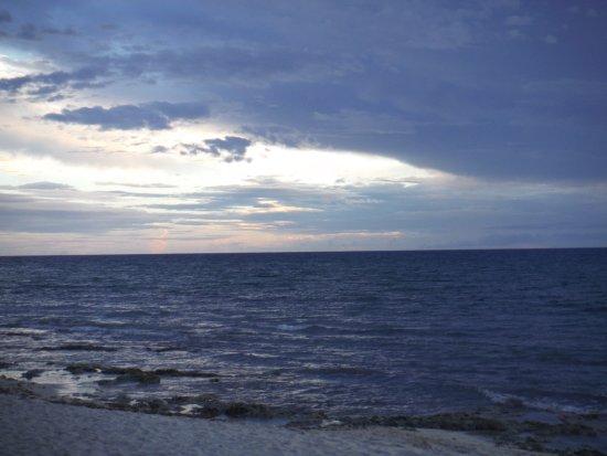 Iberostar Cozumel: Last sunset...it is there