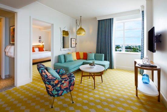 The Confidante Miami Beach: Crown Suite Living Room