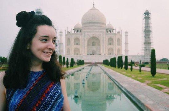 Dia Inteiro Taj Mahal e Agra Fort Tour...