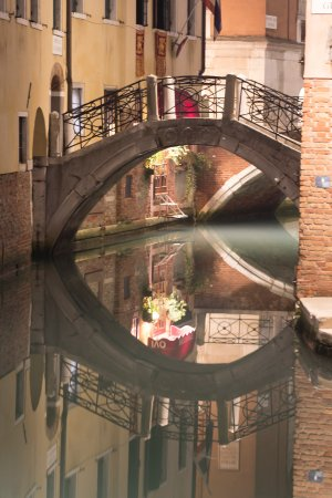 This is the canal just outside Residence Corte Grimani. The entrance is just off to the right.